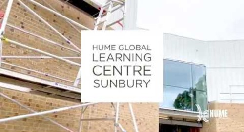 Hume Global Learning Centre Sunbury - Construction August 2019
