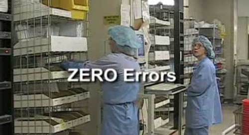 Horizontal Carousels For Sterile Supply 415100 Automatic Material Storage