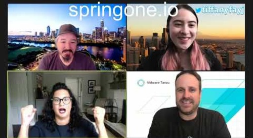 Tanzu Tuesdays - A Look at Spring One 2020 with Tasha Isenberg