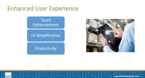 Microsoft Dynamics NAV 2017: Enhanced User Experience
