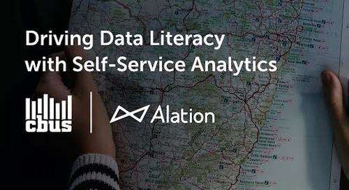 Cbus - Driving Data Literacy with Self-Service Analytics
