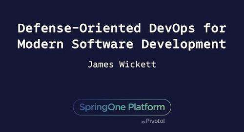 Defense-Oriented DevOps for Modern Software Development - James Wickett, Signal Sciences
