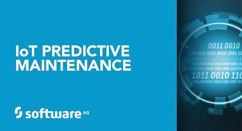 IoT Predictive Maintenance from Software AG
