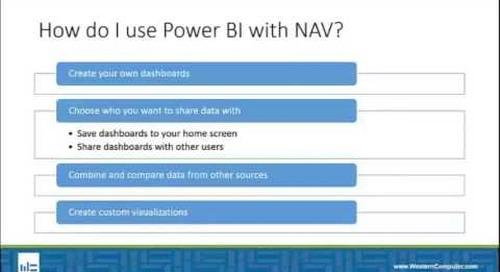 How Do I Connect Power BI with NAV