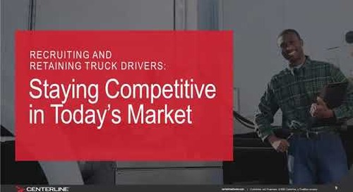 Webinar: State of Trucking 2020 Top Insights Impacting the Trucking Industry Today