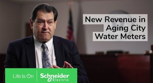 Finding New Revenue in Aging City Water Meters   Schneider Electric