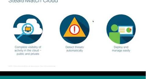 Cisco Stealthwatch Webinar