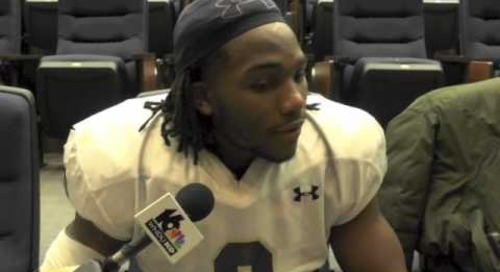 Notre Dame LB Jaylon Smith - 11/20/14 - Louisville