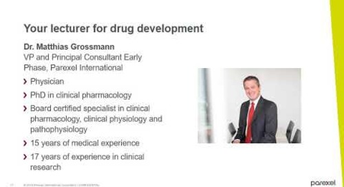 Parexel Academy | WEBINAR: Postgraduate Certificate in Clinical Trial Management
