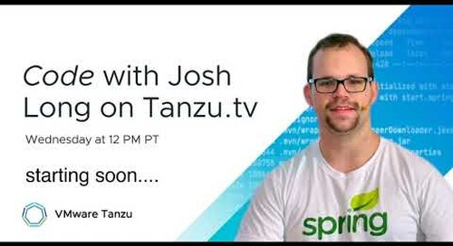 Code - Orchestration for Reactive Spring with Josh Long