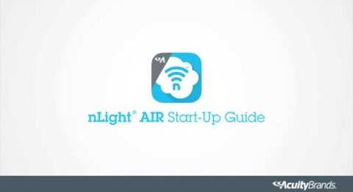 nLightAIR: A Quick Start-Up Guide for New Users - Acuity Brands