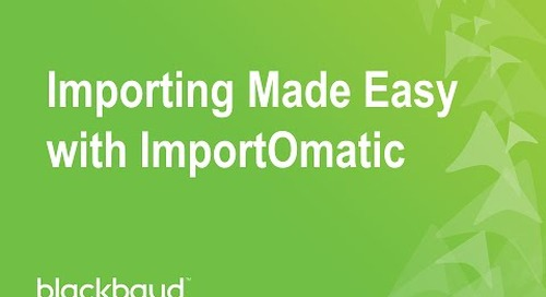 Importing Made Easy with ImportOmatic