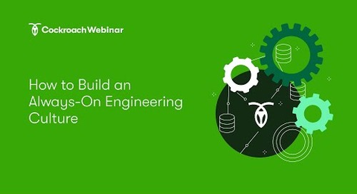 How to Build an Always-On Production Mentality & Engineering Culture