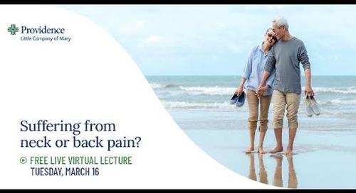 PLCM Spine Community Lecture