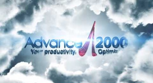 Advance 2000 Logo Animation
