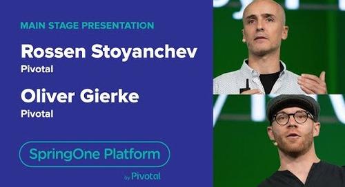 Oliver Gierke & Rossen Stoyanchev, Pivotal—Reactive Apps and Data, SpringOne Platform 2018