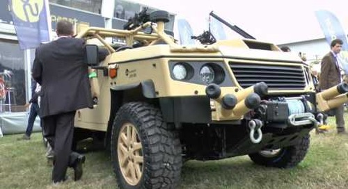 DVD 2016: Supacat LRV600 prototype debut