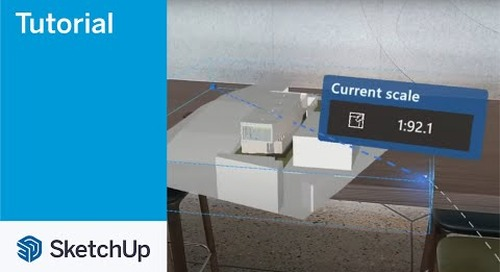 SketchUp Viewer for Hololens 2 08 Scale