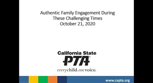 Authentic Family Engagement During These Challenging Times