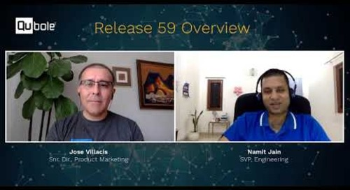 Qubole releases R59 - SVP Engineering, Namit Jain Provides an Overview