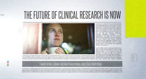 The future of clinical trials is now and there's #NoGoingBack