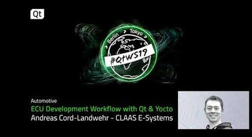 Qt & Yocto, an ECU development workflow