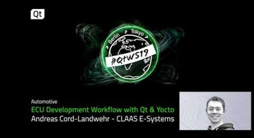 Qt & Yocto, an ECU development workflow