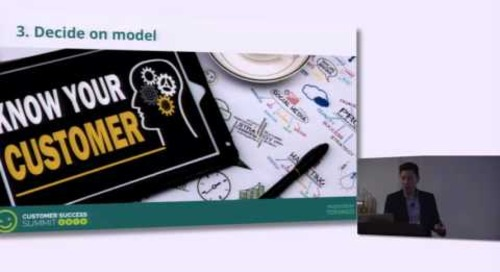 Creating and Managing Tech-Touch Relationships With Customers - Phil Nguyen