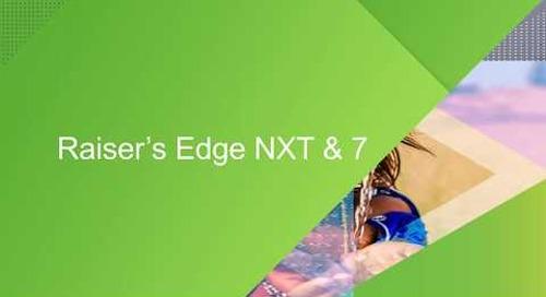 GDPR and TLS Update: Raiser's Edge 7 & NXT, NetCommunity, and Online Express