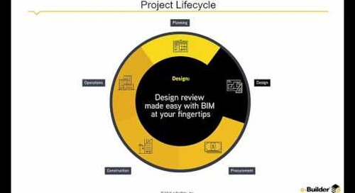 e-Builder: Spanning the Construction Lifecycle