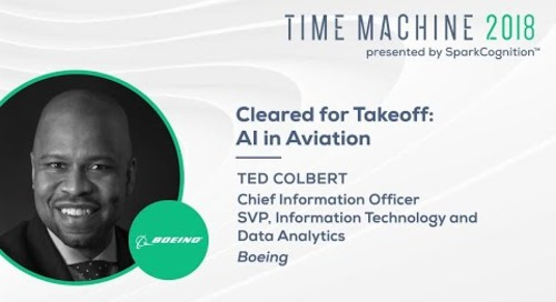 Cleared for Takeoff: AI in Aviation - Time Machine 2018