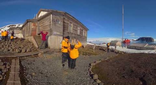North Pole: Discover Tikhaya Bay (360° VR)