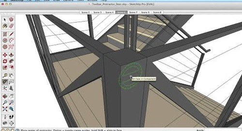 SketchUp Training Series: Protractor tool