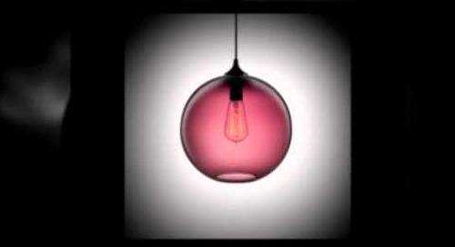 Plum Modern Pendant Lighting