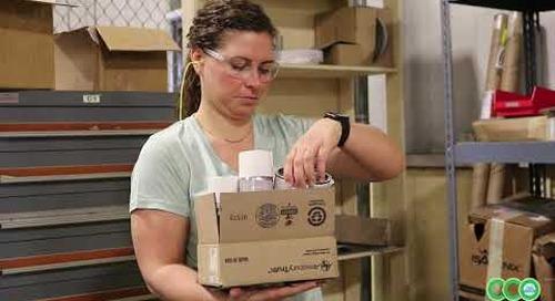 ECC Video Armoires de rangement des produits inflammables