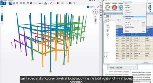 Efficient Loading and Shipping with Tekla PowerFab