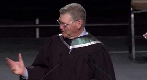Algonquin College 2013 Spring Convocation - Brian Kilrea