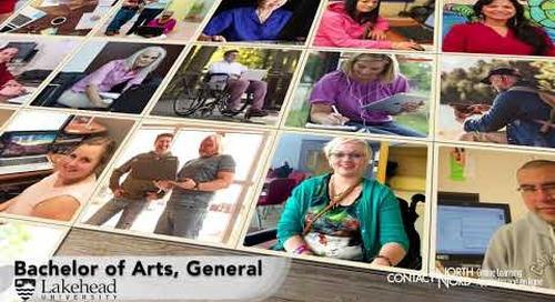 BA General from Lakehead University - Ad