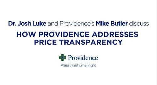 How Providence addresses price transparency with Mike Butler