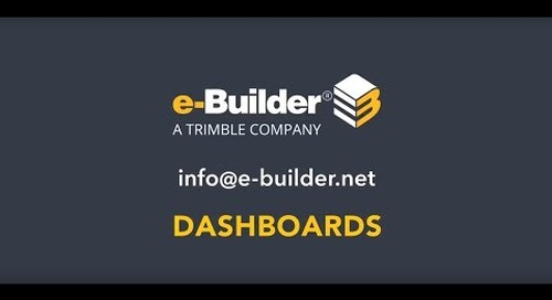 Visibility with Dashboards