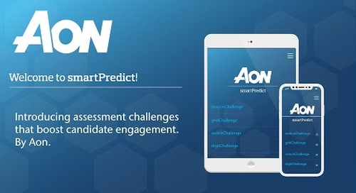 smartPredict by Aon - the challenge series to boost candidate engagement