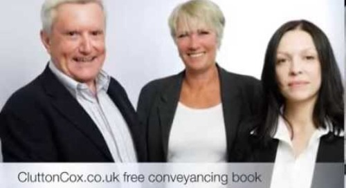Clutton Cox Solicitors - Where Does The Money Go When You Pay For Conveyancing?