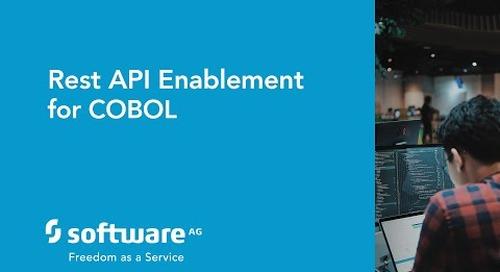 Rest API enablement for COBOL