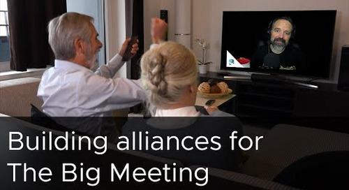 Tanzu Talk: Build alliances for The Big Meeting