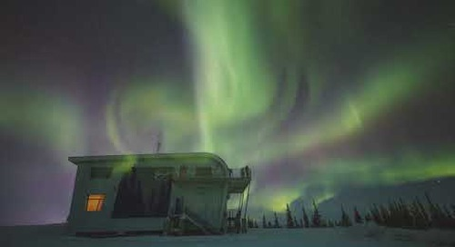 Northern Lights in Churchill, Manitoba, Canada