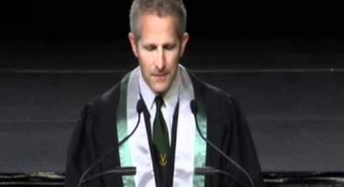 Danny Crossman, 2012 Convocation - Algonquin College 2012 Convocation