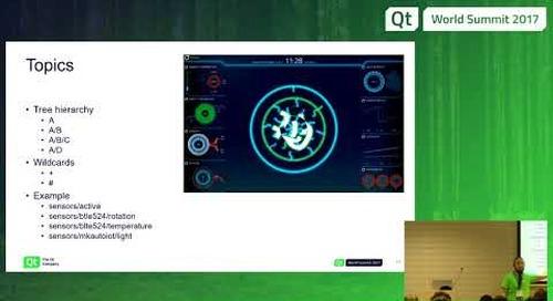 Qt & MQTT, The Qt Company