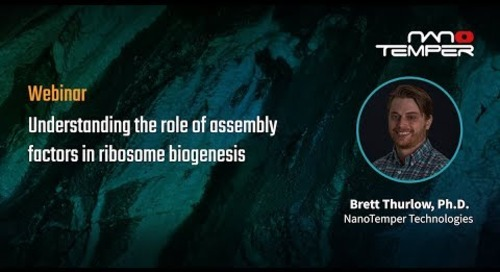 Understanding the role of assembly factors in ribosome biogensis