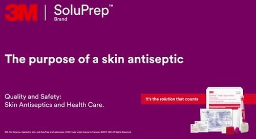 The Purpose of a Skin Antiseptic
