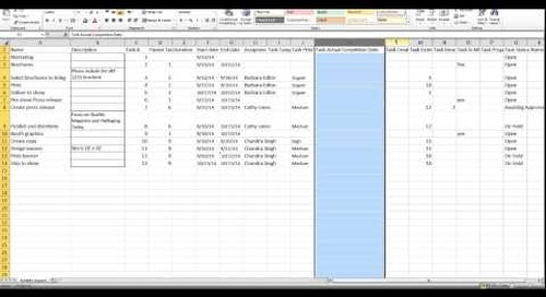 Importing CSV into Easy Projects